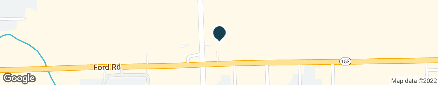 Google Map of44300 FORD RD