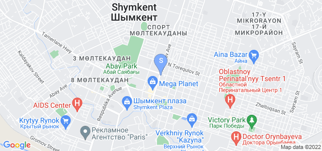 Location of Sapar Standart on map