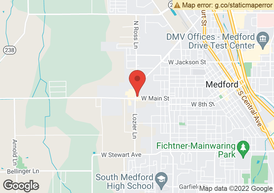 Google Map of 2280 W MAIN ST