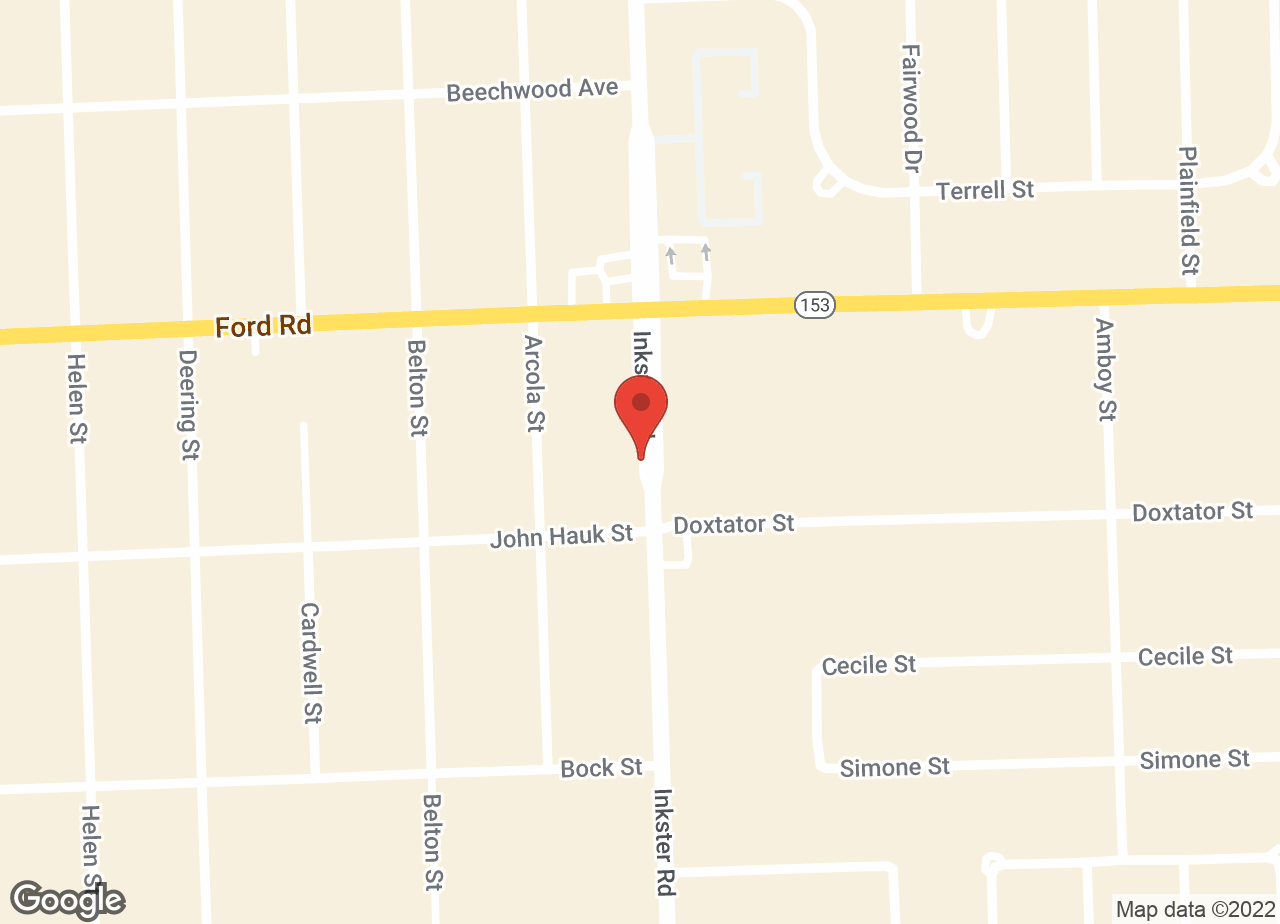 Google Map of VCA Animal Hospital of Garden City