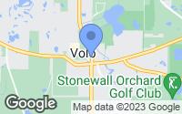 Map of Volo, IL