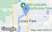 Map of Loves Park, IL