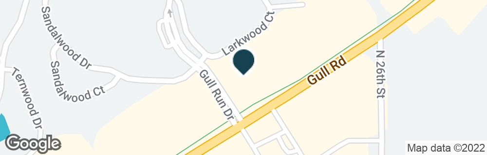 Google Map of5815 GULL RD