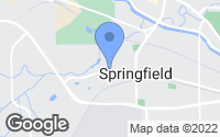 Map of Springfield, MI