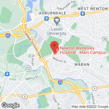 Map of Dennis Lee, MD at 2000 Washington Streetsuite 368, Newton, MA 02462