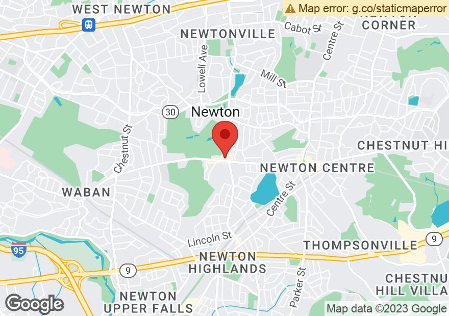 Google Map of 1101 BEACON ST