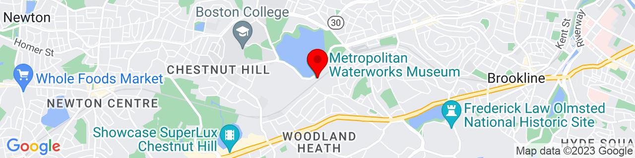 Google Map of 42.331707, -71.15553969999999