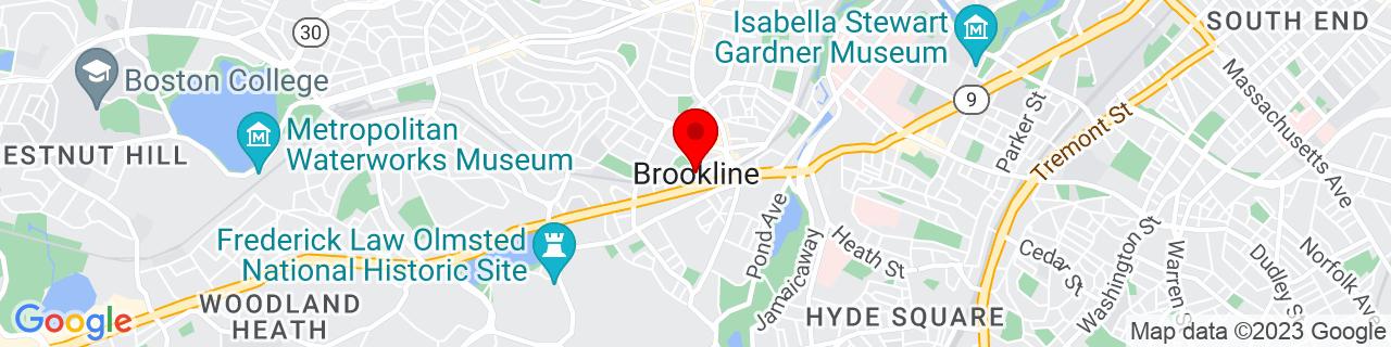 Google Map of 42.33176, -71.12116