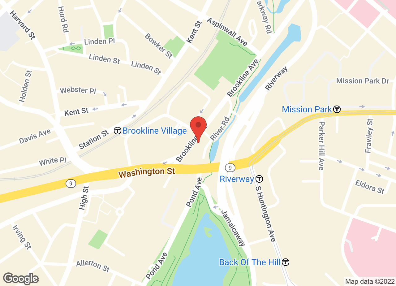 Google Map of VCA Brookline Animal Hospital
