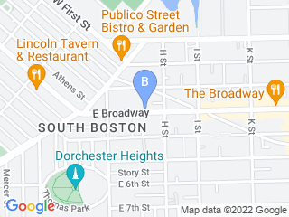 Map of Petiquette Pooch Concierge Dog Boarding options in South Boston | Boarding