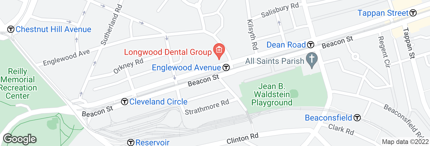 Map of Englewood Avenue and surrounding area
