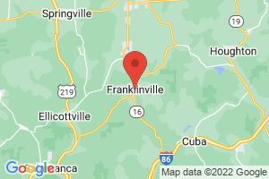 Map of Franklinville