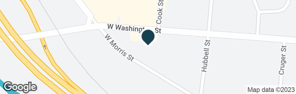 Google Map of321 W WASHINGTON ST