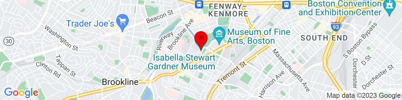 Google Map of 42.3382473, -71.0990521