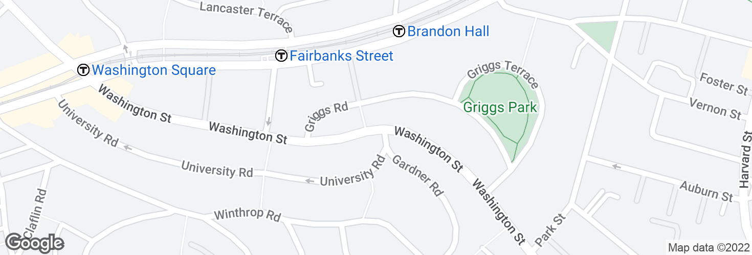 Map of Washington St opp Gardner Rd and surrounding area