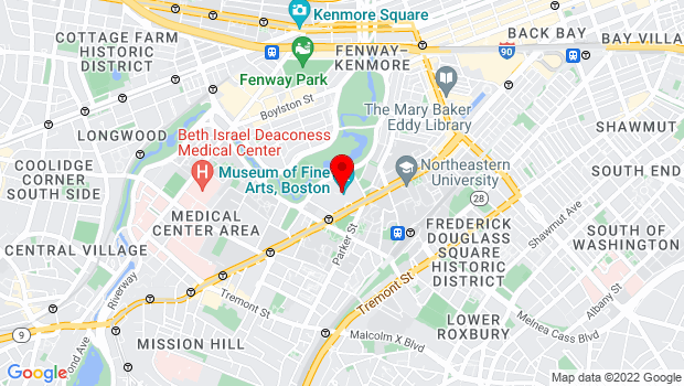 Google Map of 465 Huntington Avenue, Boston, MA 02115