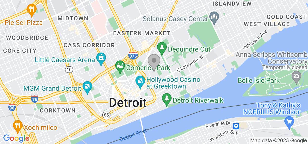 1363 Nicolet Pl, Detroit, MI 48207, US