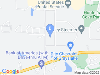 Map of Central Bark Doggy Day Care Grayslake Dog Boarding options in Grayslake | Boarding