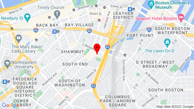 Google Map of 71 Thayer Street, Boston, MA 02118