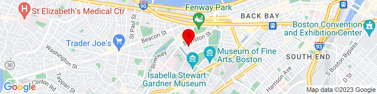 Google Map of 42.3428653, -71.1002881