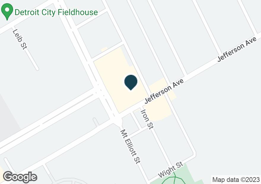 Google Map of6331 E JEFFERSON AVE