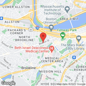 Map of Delia Sang, MD at 1101 Beacon Streetsuite 3E, Brookline, MA 02446