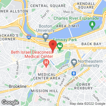 Map of Ntesi Asimi, MD at 133 Brookline Ave, Boston, MA 02215