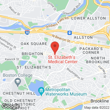 Map of Blakely Plaster, PA at 11 Nevins Street, Brighton, MA 02135