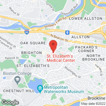Map of Edward Rodriguez, MD at 736 Cambridge Street, Brighton, MA 02135
