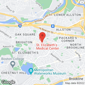 Map of Matthew Lemaitre, MD at 11 Nevins Street, Brighton, MA 02135