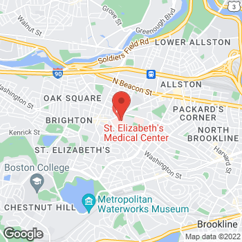 Map of Hemlata Daryani, MD at 736 Cambridge Street, Brighton, MA 02135