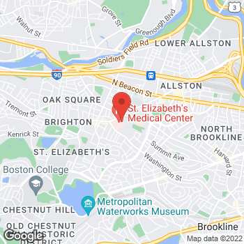 Map of Judith Phillips, PA at 736 Cambridge Street, Brighton, MA 02135