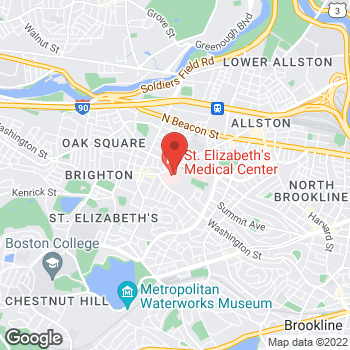 Map of Colin Blake, MD at 736 Cambridge Street, Boston, MA 02135