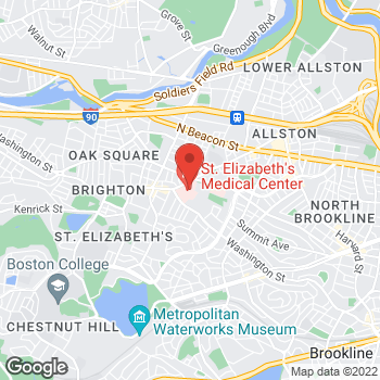 Map of Chaya Bhuvaneswaran, MD at 736 Cambridge Street, Brighton, MA 02135
