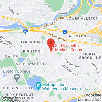 Map of Michael Schoor, MD at 736 Cambridge Street, Boston, MA 02135