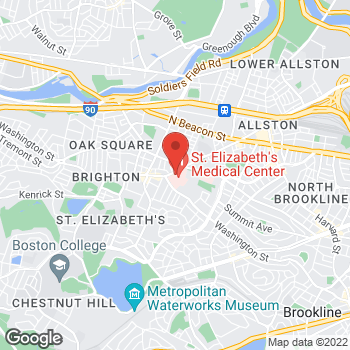 Map of Robert P. Stephenson, DO at 736 Cambridge Street, Brighton, MA 02135