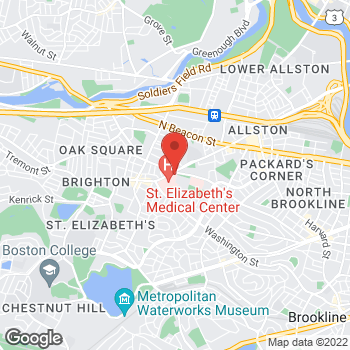 Map of Manish Tandon, MD at 11 Nevins Streetsuite 304, Brighton, MA 02135