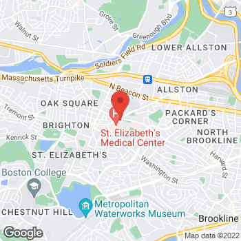 Map of Richard Silverman, MD at 11 Nevins Streetsuite 502, Brighton, MA 02135