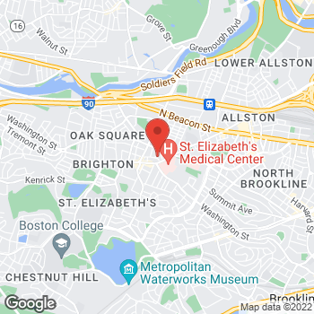 Map of Marc Kramer, MD at 17 Henshaw Street, Brighton, MA 02135