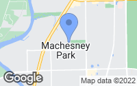 Map of Machesney Park, IL