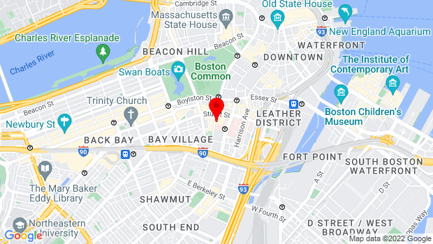 Google Map of 270 Tremont Street, Boston, MA 02116