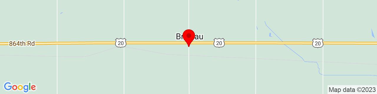 Google Map of 42.35028, -97.69895