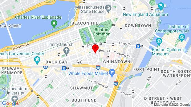 Google Map of 200 Stuart Street, Boston, MA 02116