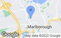 Map of Marlborough, MA