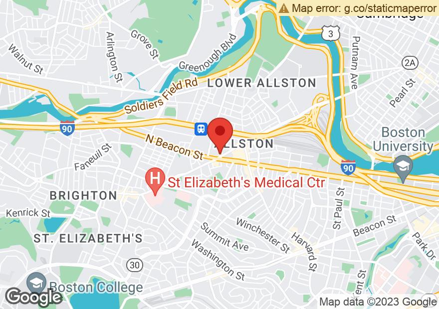 Google Map of 465 CAMBRIDGE ST