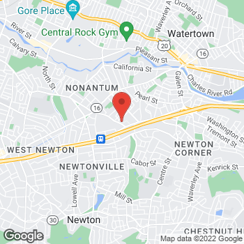 Map of Sarah Moses, MD at 29 Crafts Streetsuite 400, Newton, MA 02458