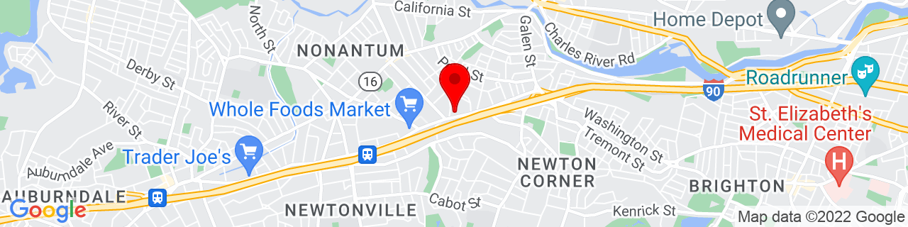 Google Map of 42.3554305, -71.1946233