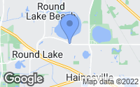 Map of Round Lake Park, IL
