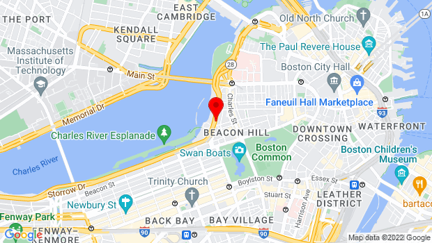 Google Map of 47 David G Mugar Way, Boston, MA 02108