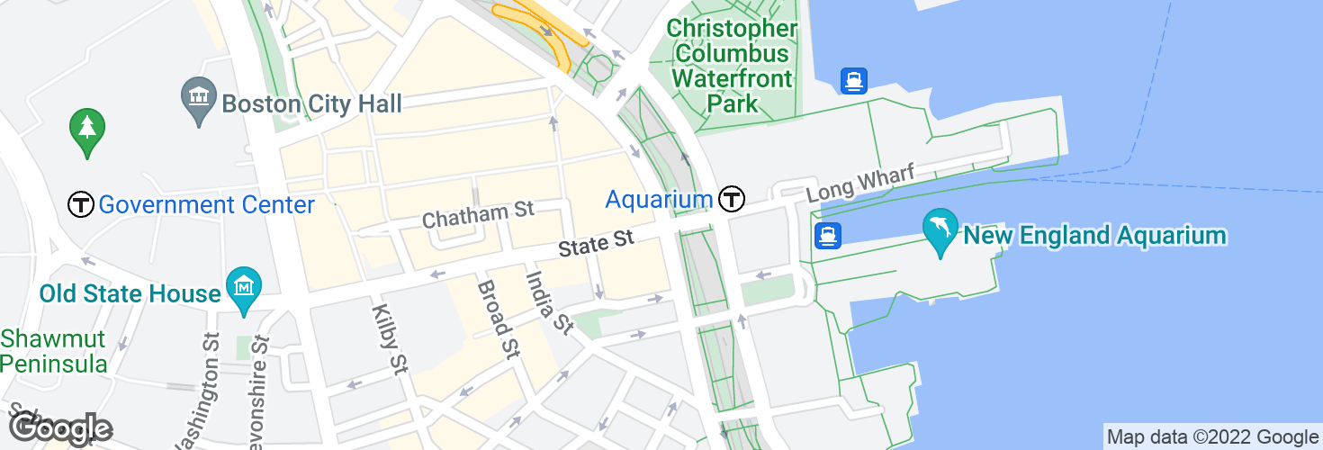 Map of Atlantic Ave @ State St and surrounding area